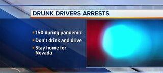 Drunk drivers arrest during pandemic