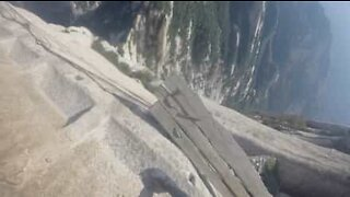 Man crosses the world's most dangerous trail