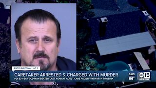 Arizona caretaker arrested, charged with murder in patient's death