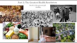 Infectious Disease History and Today - 3. Health Revolution