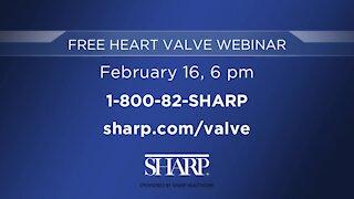 Sharp Healthcare: Free Heart Valve Webinar