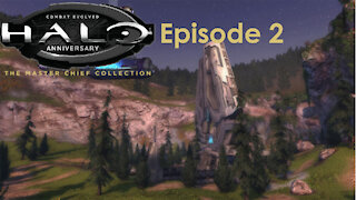 Halo Combat Evolved Anniversary Campaign MCC PC Gameplay Episode 2 - Arriving on Halo