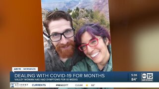 Some patients dealing with COVID-19 for months