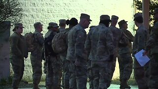 The Ohio National Guard arrives at GCFB