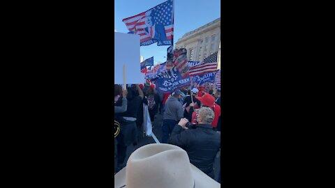 USA MAGA March