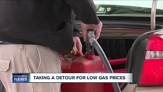 Western New Yorkers taking a detour for low gas prices