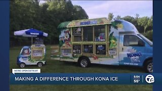 Making A Difference: Kona Ice