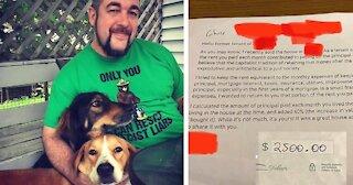 Landlord's Letter Leaves Ex-Tenant Speechless