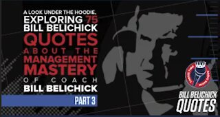 Bill Belichick Quotes (Part 3)   Exploring 75 Bill Belichick Quotes About Management Mastery