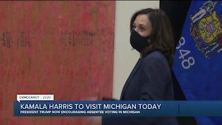 Sen. Kamala Harris to visit Michigan Tuesday