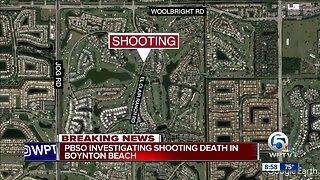 Shooting investigated in unincorporated Boynton Beach