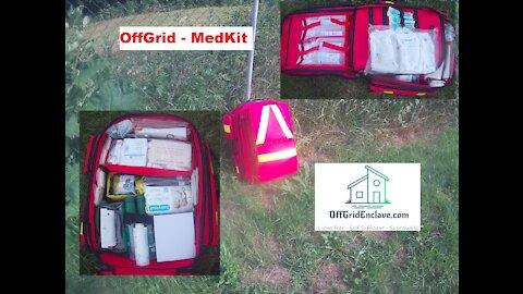 OffGrid MedKit. Proper Emergency/Rescue Backpack - Portable Field Hospital.