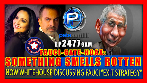 """EP 2477-9AM FAUCI-GATE-HOAX: White House Officials """"Talking About Exit Strategies"""" for Dr. Fauci"""