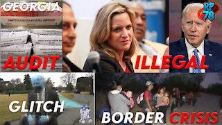 Green Screen Biden, Fake White House, Fulton County Forensic Audit
