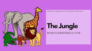 Piano Adventures Performance Book Primer - The Jungle