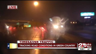 Tracking road conditions in Green Country