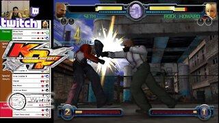 (PS2) KOF Maximum Impact - 16 - Seth - Lv Gamer