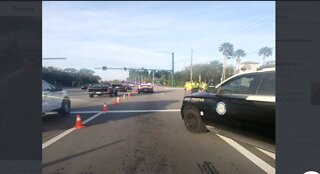 Fatal crash closes road in Martin County