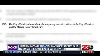 Interim McFarland City Manager speaking out after investigation