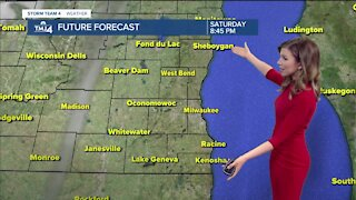 Cooler start to the holiday weekend