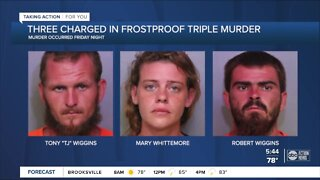 3 arrested in Frostproof triple murder investigation