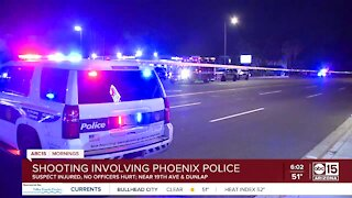 Police involved in shooting near 19th Avenue and Dunlap Road