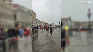 La maratona sulle acque di Venezia