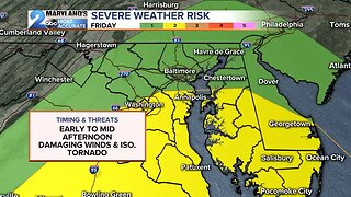 Another Friday Severe Weather Threat
