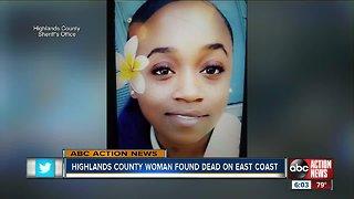 Missing Highlands County woman found dead; death investigation underway