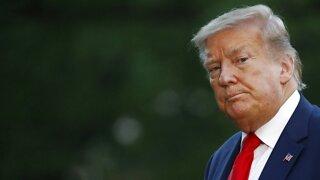 President Trump Blames Media For Weekend Of Unrest