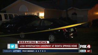 Deputies surround home in Bonita Springs
