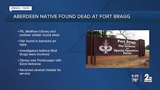 Aberdeen native found dead at Fort Bragg