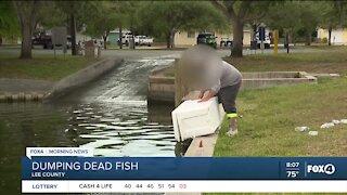 FWC warns against fish dumping