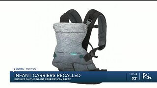 Recall Alert: Infant Carriers Recalled