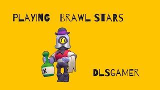 Playing Brawl Stars