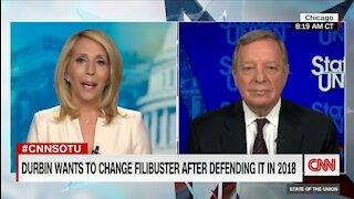 Democrat Admits He Flip Flopped on Filibuster