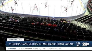 Bakersfield Condors welcome fans back for 2021 season