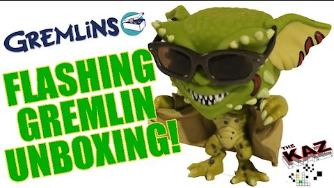 Unboxing the Flashing Gremlin Funko Pop