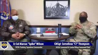 505 CCW Command Chief Virtual Coffee: Black History Month