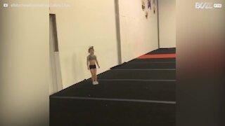 Cette fillette de 6 ans est déjà une gymnaste hors pair