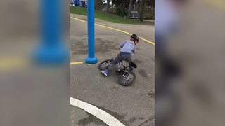 Learning To Ride A Bike Fail