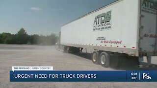 Urgent need for truck drivers