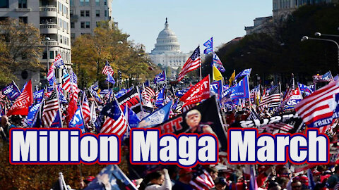 The Friday Vlog | January 6th Million Maga March on DC |