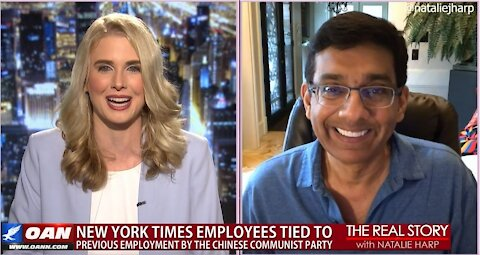 The Real Story - OANN Silencing Conservatives with Dinesh D'Souza