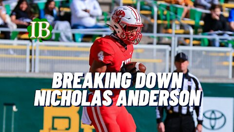 Notre Dame Recruiting: Breaking Down WR Nicholas Anderson