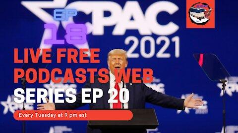 Live Free Podcasts Ep 20 / the season of audits / NH, PA, MI, GA, AZ