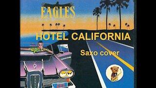 Hotel California - The eagles cover Saxo-nours