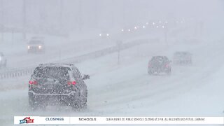 Winter weather leads to difficult driving in Carroll County