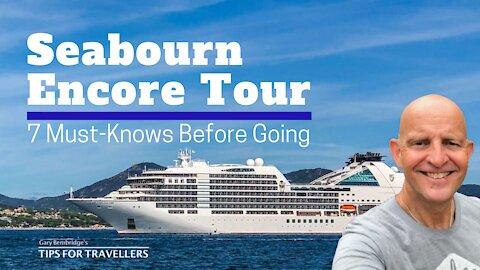 Seabourn Encore Cruise Ship Tour