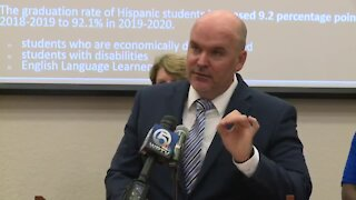 Indian River County schools news conference